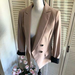 WHBM Tan Blazer Size 4
